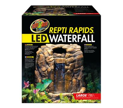 ZooMed Terrariendeko ReptiRapids LED Wasserfall L Stein