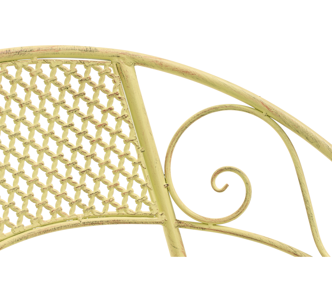 metall stuhl provence ca 65 5 x 57 x 76 cm ebay. Black Bedroom Furniture Sets. Home Design Ideas