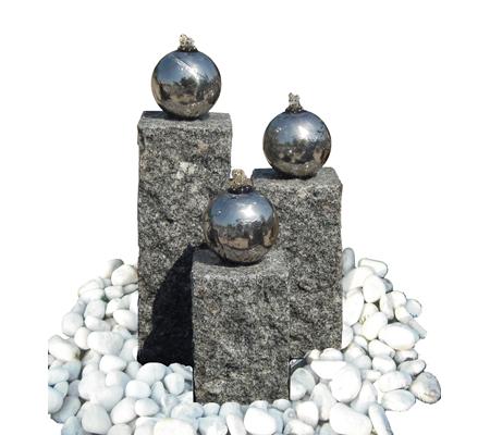 dehner gartenbrunnen mirano mit led beleuchtung ca. Black Bedroom Furniture Sets. Home Design Ideas