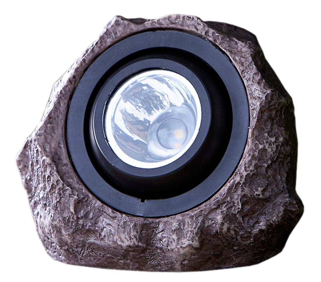 Dehner Premium Solarstein Pedra ca. 20x16.5cm Polyresin braun ...