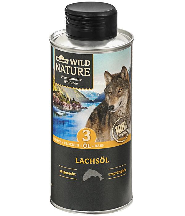 Dehner Wild Nature Ergänzungsfutter Lachsöl, BARF