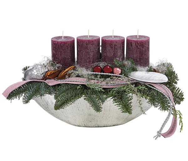 Adventsgesteck 'Dark Berry'