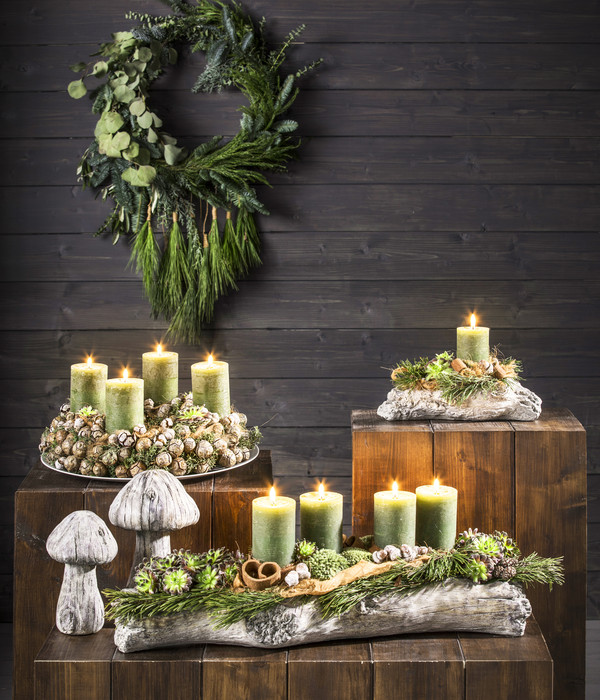 Adventsserie 'Wood'