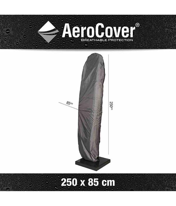 Aero Cover Ampelschirmhülle für Schirme m. gebogenem Rohr Ø 350 cm