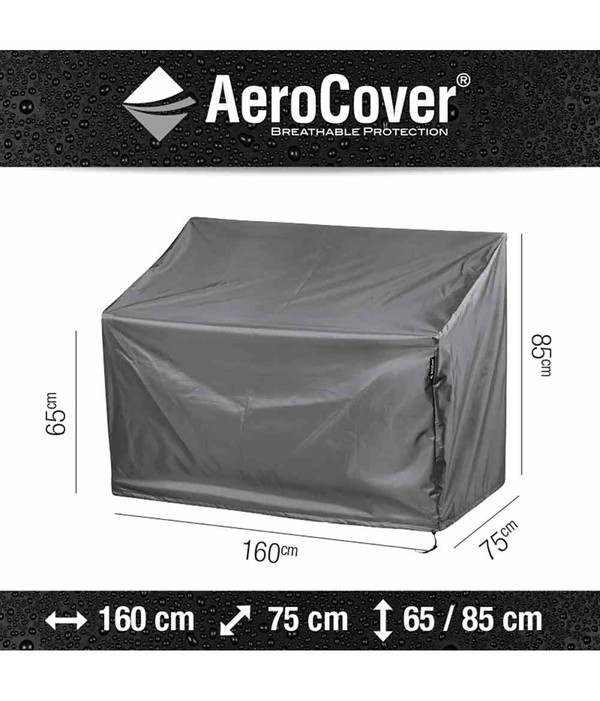 Aero Cover Loungebankhülle, 160x75x65/85 cm
