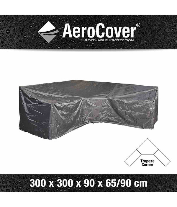 Aero Cover Loungesethülle L-Form, 300x300x90x65/90 cm