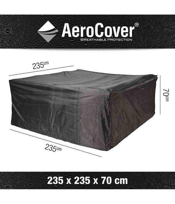 Aero Cover Loungesethülle quadratisch, 235x235x70 cm