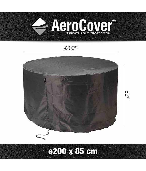 Aero Cover Sitzgruppenhülle, Ø 200x85 cm