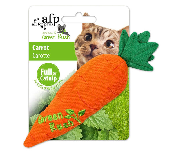 afp Katzenspielzeug Green Rush Carrot