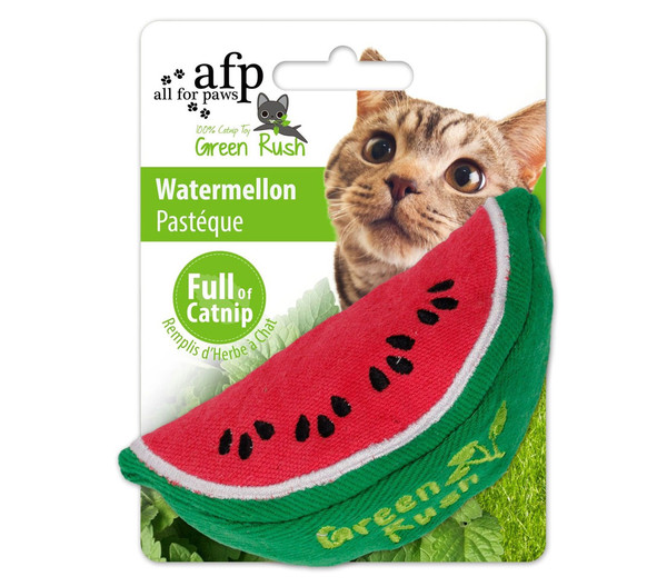 afp Katzenspielzeug Green Rush Watermellon