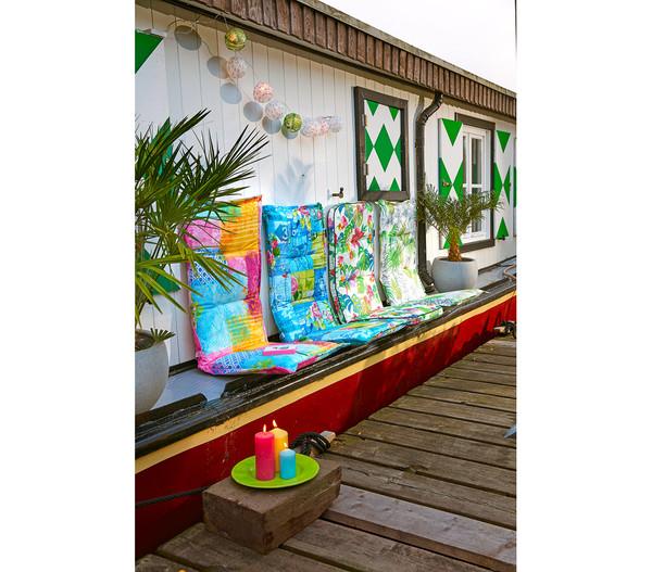 Angerer Exklusiv Hochlehnerpolster Manila, 120 x 50 x 6 cm