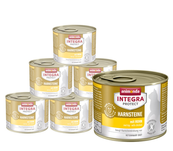 animonda INTEGRA PROTECT Nassfutter Harnsteine, 6 x 200g