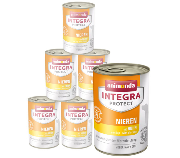 animonda INTEGRA PROTECT Nassfutter Nieren, 6 x 400g