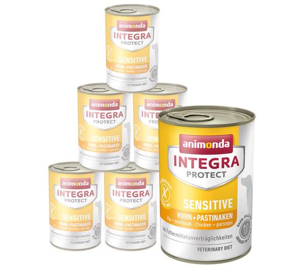 animonda INTEGRA PROTECT Nassfutter Sensitive, 6 x 400g