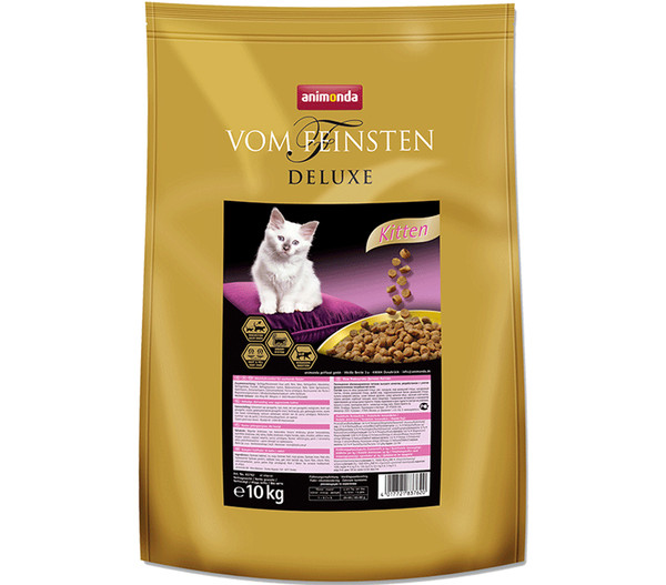 animonda Vom Feinsten Deluxe Kitten, Trockenfutter, 10 kg