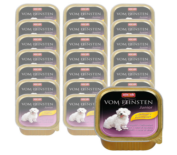 animonda VOM FEINSTEN Nassfutter Junior, 22 x 150g