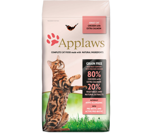 Applaws Trockenfutter Cat Grain Free Adult, 7,5kg