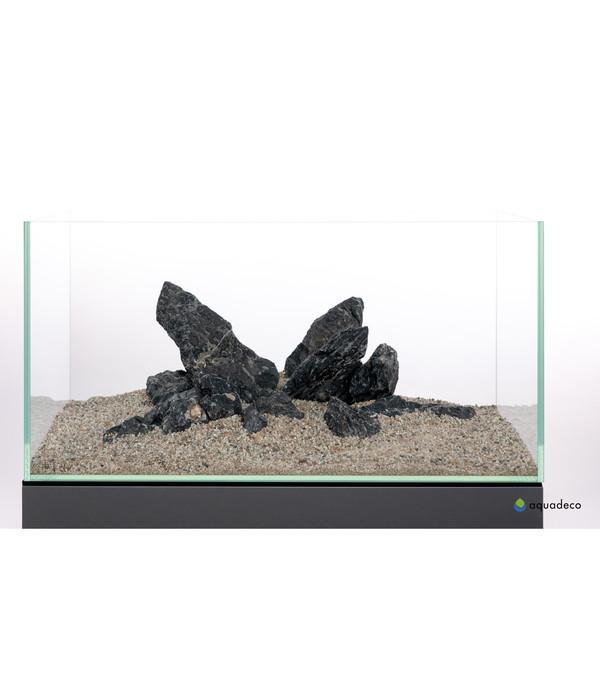 aquadeco Aquariumdeko Set Mini-Landschaft black