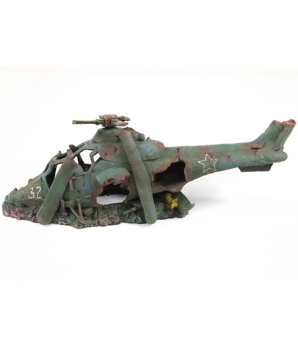 aquatlantis Aquariumdeko Hubschrauber L