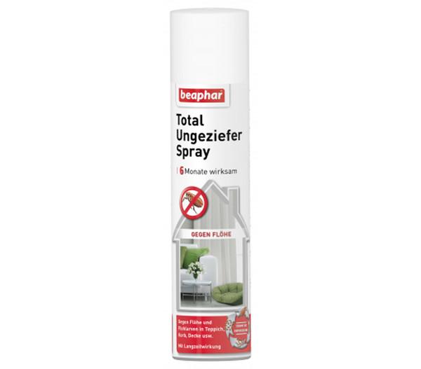 beaphar Total Ungeziefer Spray, 400ml