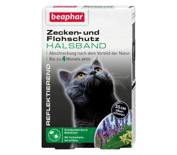 beaphar Zecken- und Flohschutzband für Katzen, 35cm