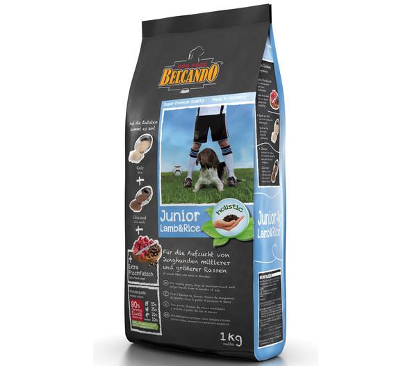 BELCANDO® Trockenfutter Lamm & Reis Junior
