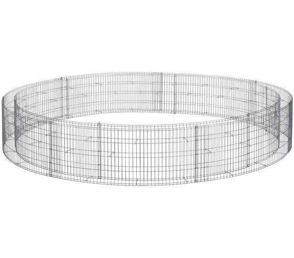 bellissa Hochbeet Bausatz, 240 x 240 x 40 cm