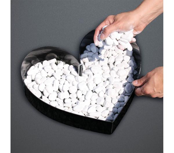bellissa Kunststoff-Formkante, anthrazit, 500 x 7 cm
