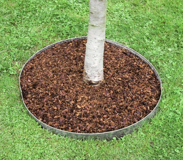 bellissa Metall-Rasenkante, verzinkt, 118 x 13 cm