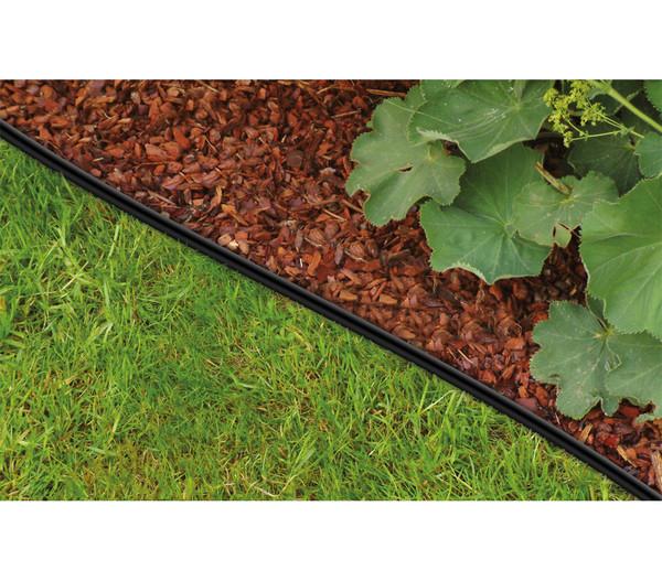 bellissa Rasenkante Econo, schwarz, 610 x 10 cm