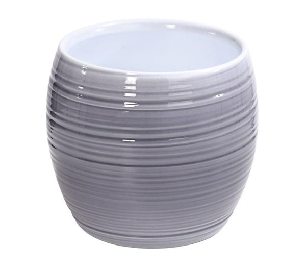 Übertopf aus Keramik, Ø 15 cm, rund