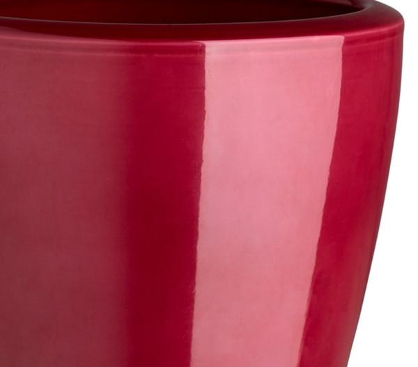 Übertopf aus Keramik,Ø 14 cm, rund