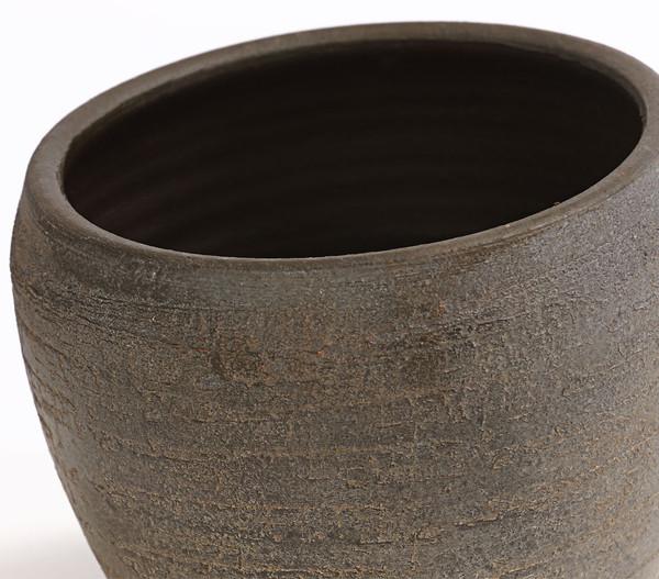 Übertopf aus Keramik 'Kenia', rund