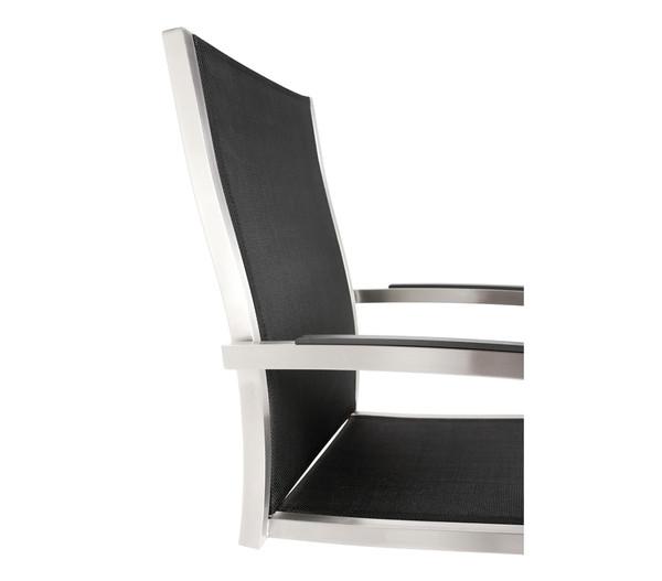 Best Freischwing-Sessel Marbella, 57x64x94 cm, Edelstahl, schwarz