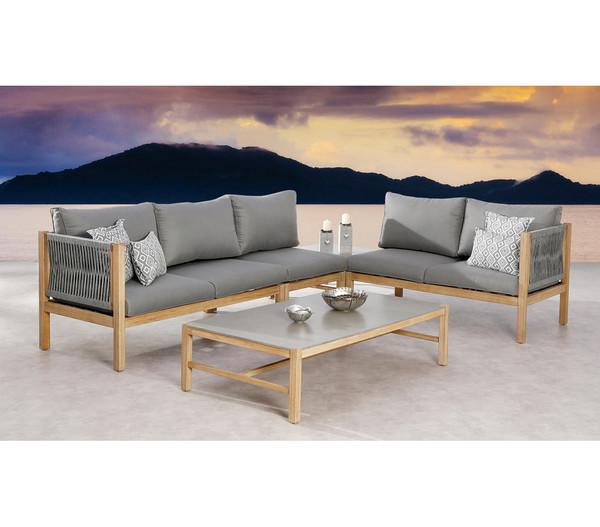 Best Lounge-Seitenteil Madagaskar, 2-Sitzer rechts, 144 x 74 x 84 cm
