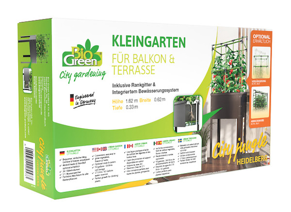 BioGreen Metallhochbeet City Jungle Heidelberg