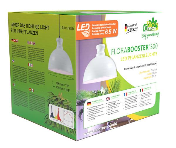 BioGreen Pflanzenleuchte Flora-Booster 500