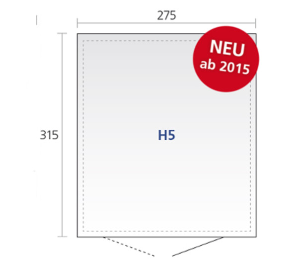 Biohort Gerätehaus HighLine® 5