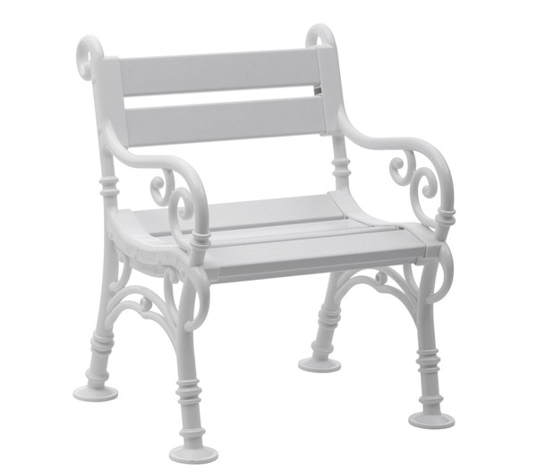 Blome Sessel Linderhof, 68 x 60 x 85 cm, weiß