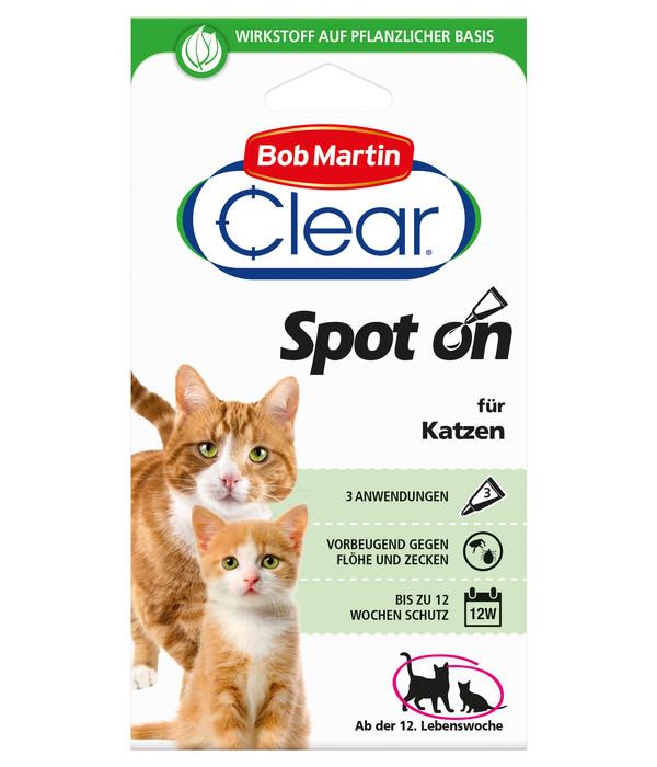 Bob Martin Clear Spot on Katze, 12 Wochen