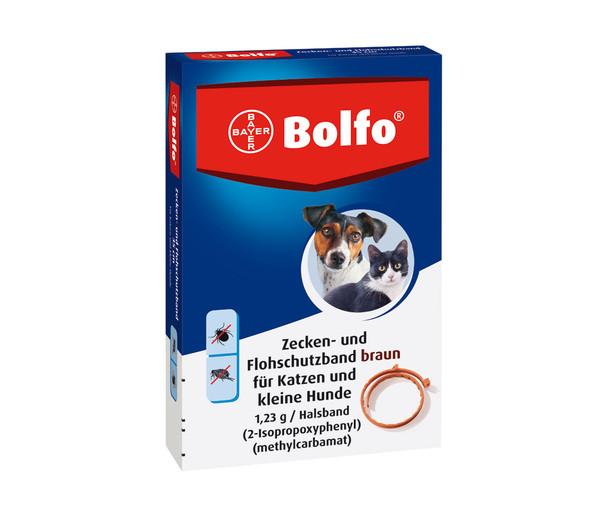 Bolfo Flohschutzhalsband für Hunde und Katzen, 35 cm
