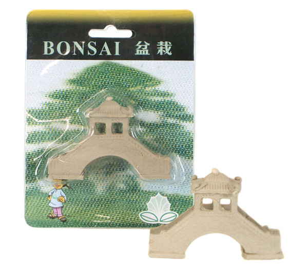 Bonsai-Figur Brücke, 8 x 6 x 1 cm