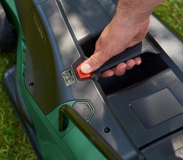 Bosch Elektro Rasenmäher Universal Rotak 450