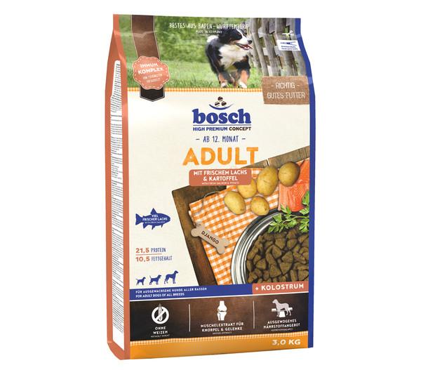 bosch High Premium Trockenfutter Adult Lachs & Kartoffel
