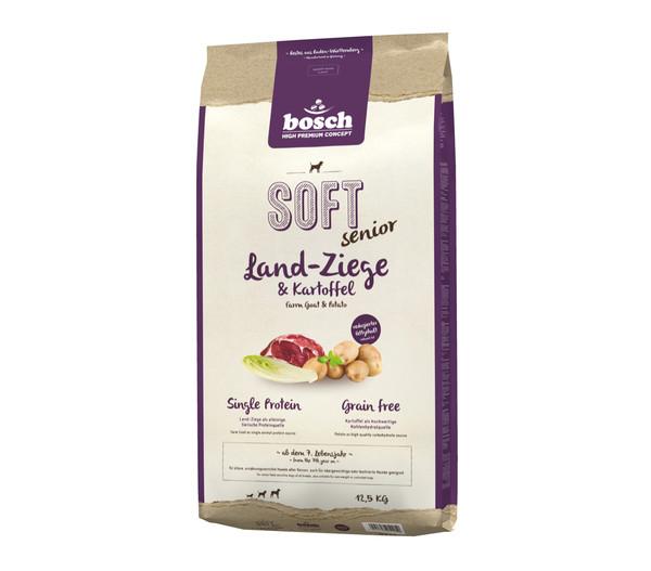 bosch Soft Trockenfutter Senior Ziege & Kartoffel