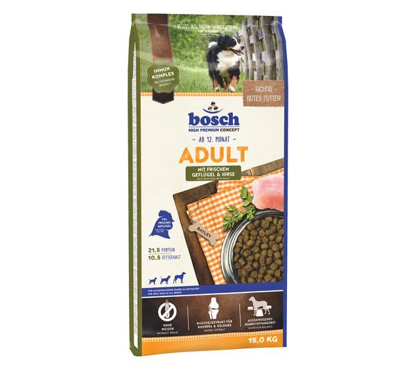 bosch Trockenfutter Adult Geflügel & Hirse