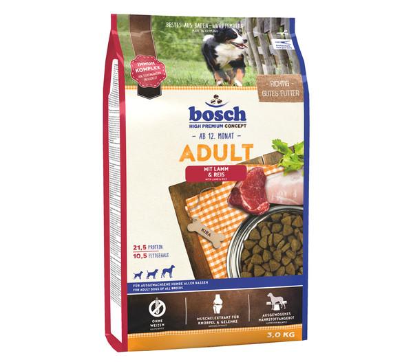 bosch Trockenfutter Adult Lamm & Reis