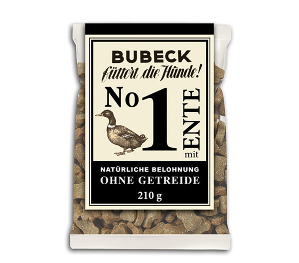 Bubeck Hundesnacks, getreidefrei, 210g