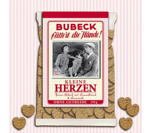 Bubeck Kleine Herzen, Hundesnack, 210g
