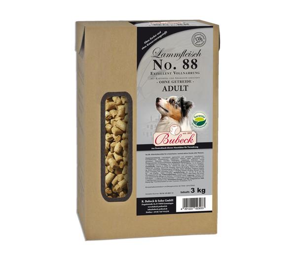 Bubeck Trockenfutter No. 88 Adult Lammfleisch